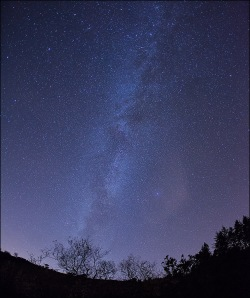 Milky Way over The Galtees
