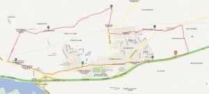 Camino Map Carrig