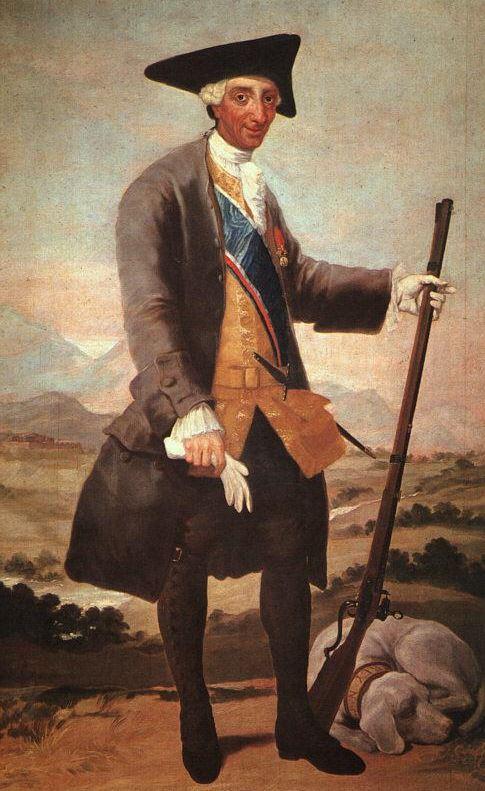 Goya Charles 111 in Hunting Dress