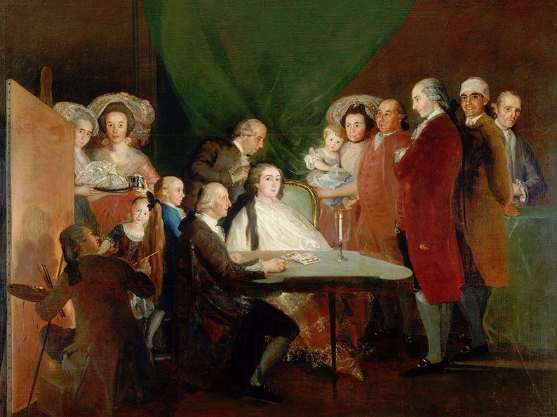 Goya Family of the Infante Don Luis de Borbon