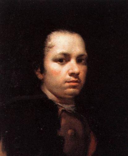 Goya Self Portrait 1780