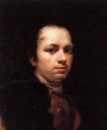 Goya Self Portrait 1780