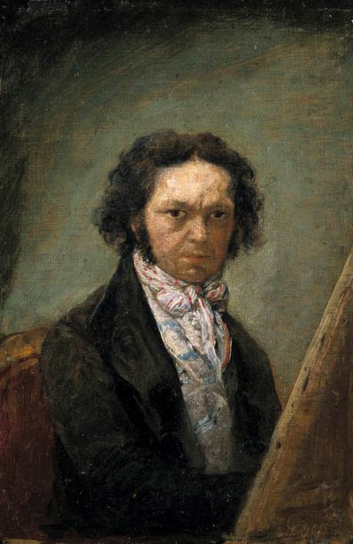 Goya Self Portrait 1795