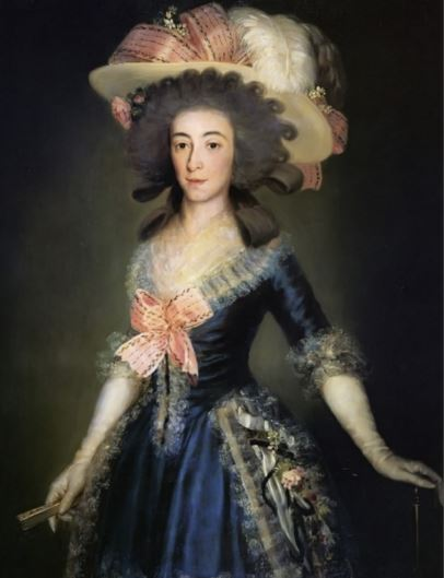 Goya The Countess Duchess of Benavente