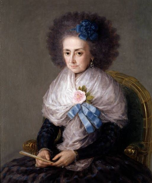 Goya The Dowager Marchioness of Villafranca