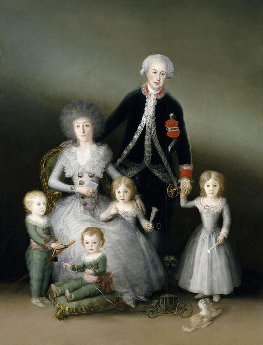 Goya The Duke and Duchess of Osuna and their Children