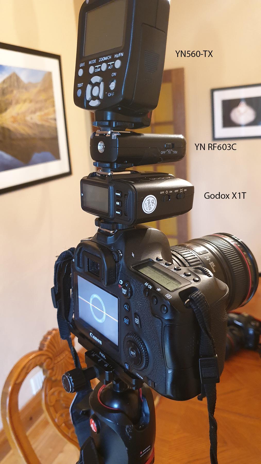 Godox YN Set Up